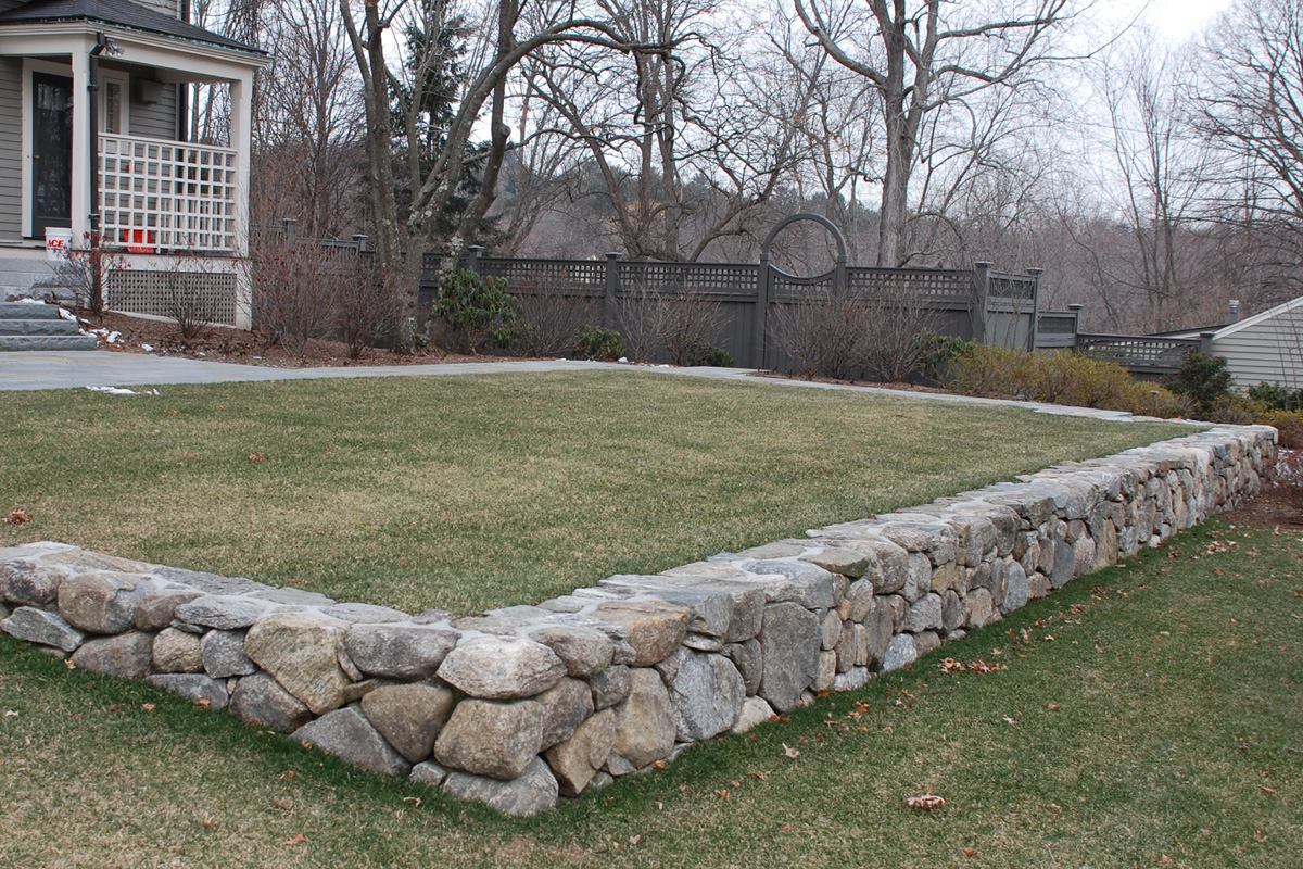 Retaining Wall and Terrace