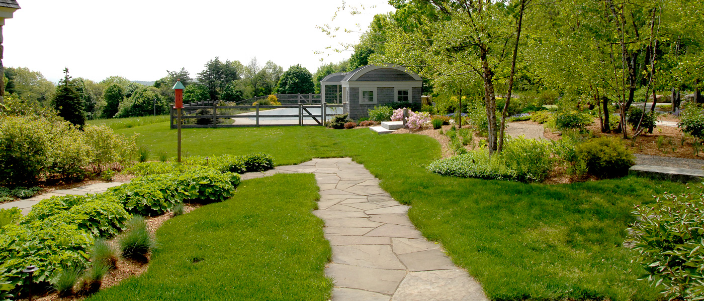 Garden Pathways and Landscaping