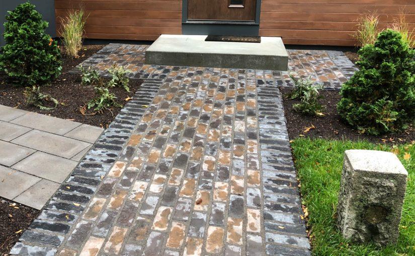 Intersecting Stone Walkways